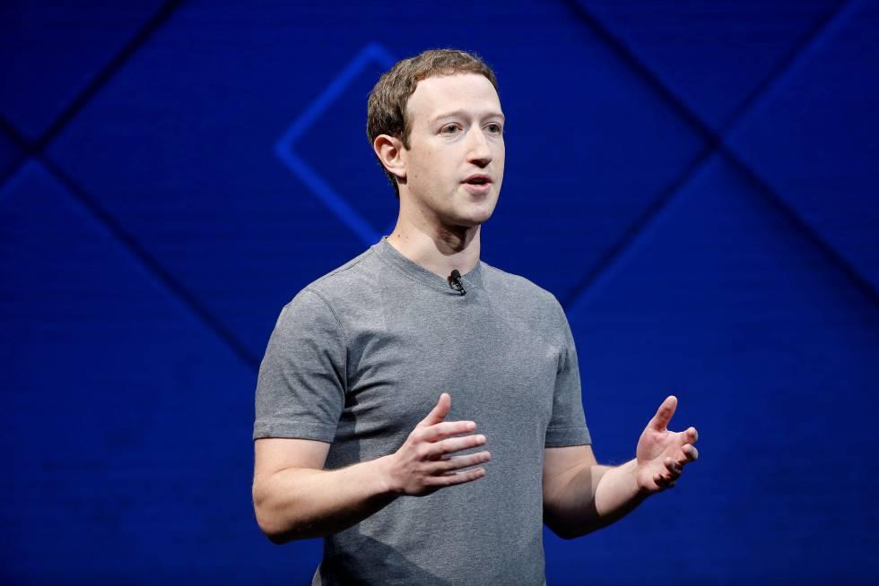 Mark Zukerberg el pasado mes de abril en California.
