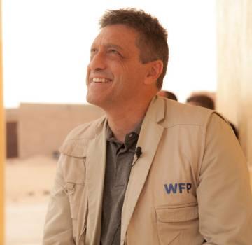 Romain Sirois, responsable del PMA en Argelia.