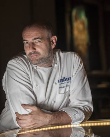 Federico Zanasi, head chef of the new Turin restaurant Condividere.