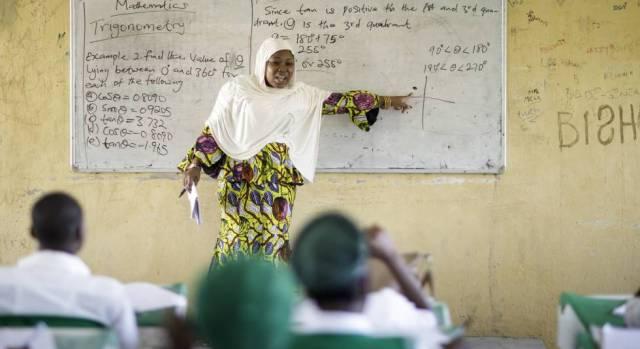 Instituto público de Kwali, en Abuja, en el que estudian 33 chicos trasladados desde el noreste del país.