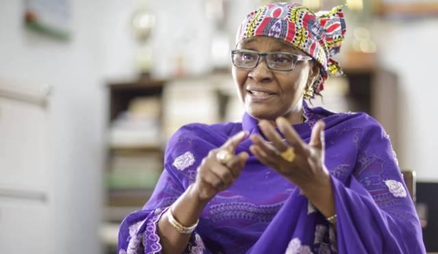 Binta Abdul Kadir, directora del instituto público de Kwali, en Abuja.