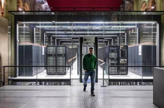 El supercomputador Mare Nostrum IV en Barcelona.