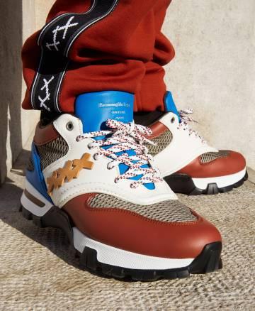 La 'sneaker' My Cesare de Ermenegildo Zegna XXX se puede personalizar mediante colores Pantone.