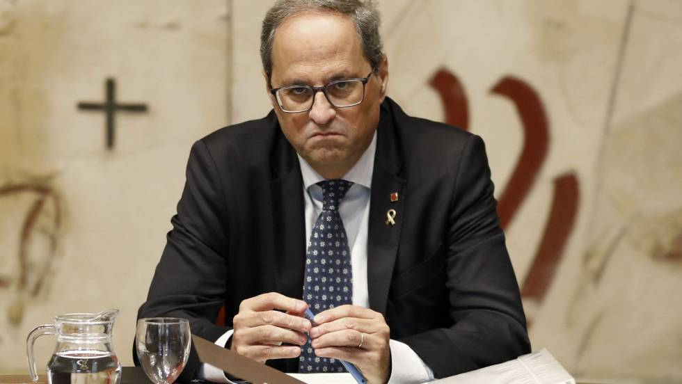 Catalan premier Quim Torra this week said he wants accountability for the police action.