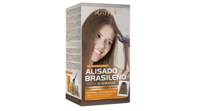 Always straight hair with the Brazilian straightening kit that sweeps Amazon
