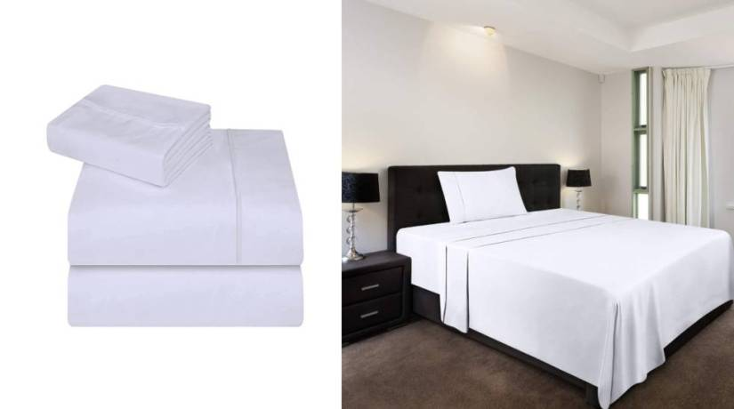 Microfiber and in three colors: the sheet set with more than 4,000 reviews on Amazon