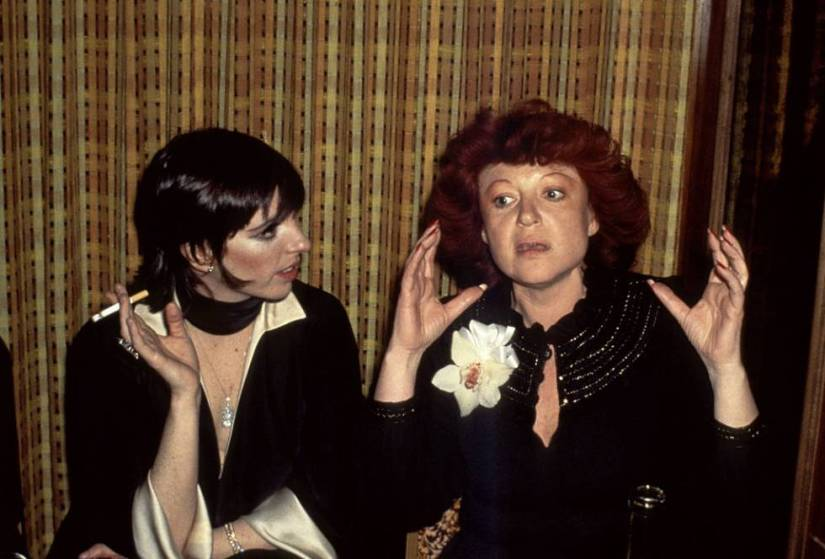 Liza Minnelli and Regine Zylberberg chatted in 1971 at the venue Regine opened in New York.