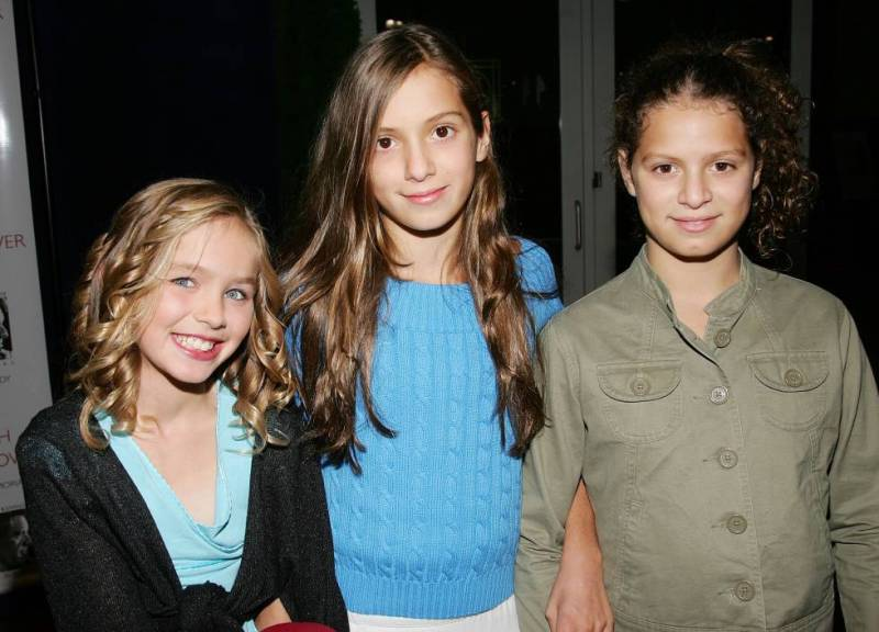 The granddaughters of Robert F. Kennedy, Saoirse Kennedy Hill, Mariah Kennedy Cuomo and Cara Kennedy Cuomo, in New York in 2006.