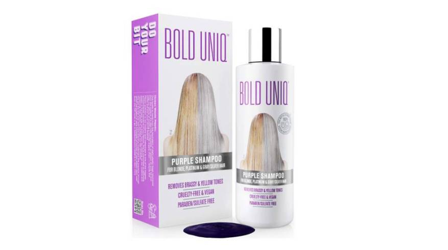 Blonde, white or highlighted hair: revitalize your hair color after the summer with this toning shampoo