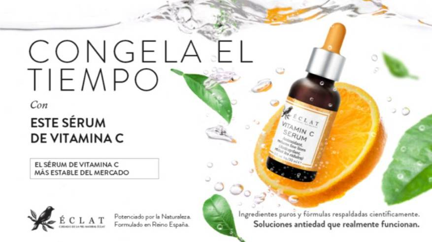 Hydrate and illuminate facial skin with this vitamin C serum that does not exceed 10 euros on Amazon
