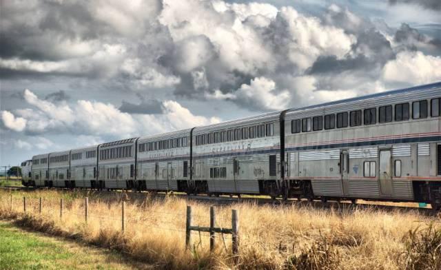 Un convoy Superliner a su paso por Texas (EE UU).