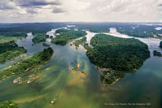 Río Xingú, en el Amazonas brasileño