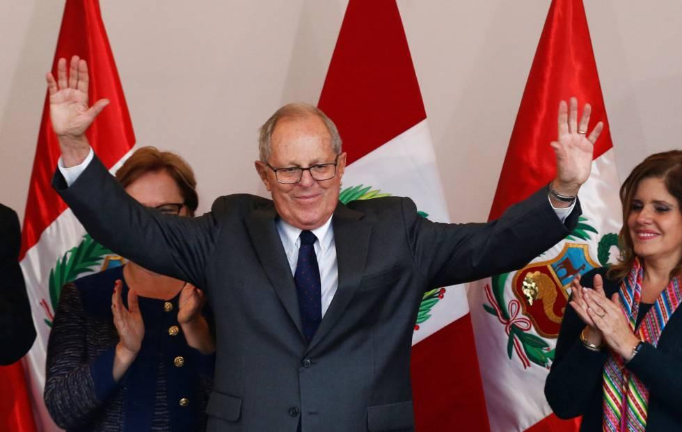 El presidente de Perú, Pablo Kuczynski