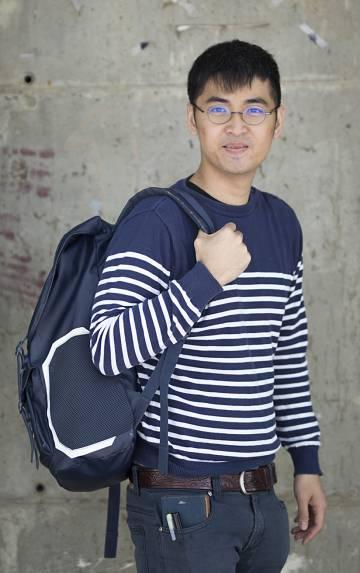 Alex Chow, en la Universidad de Sevilla.