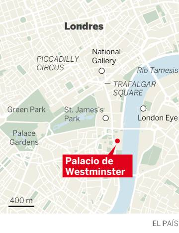 Una muerta y varios heridos en un atentado terrorista cerca del Parlamento británico en Londres