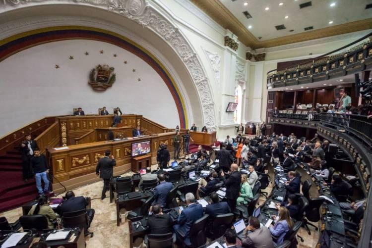 Hemiciclo de sesiones de la Asamblea Nacional de Venezuela.