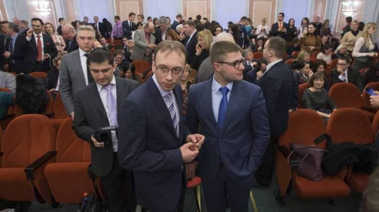 Miembros de los Testigos de Jehová esperaban en abril la sentencia del Tribunal Supremo ruso.