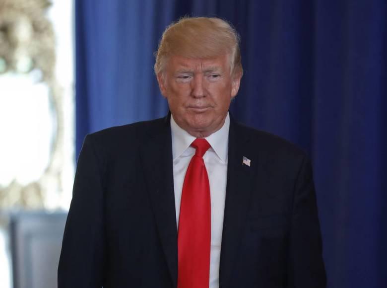 Donald Trump, este sábado en Bedminster (Nueva Jersey).