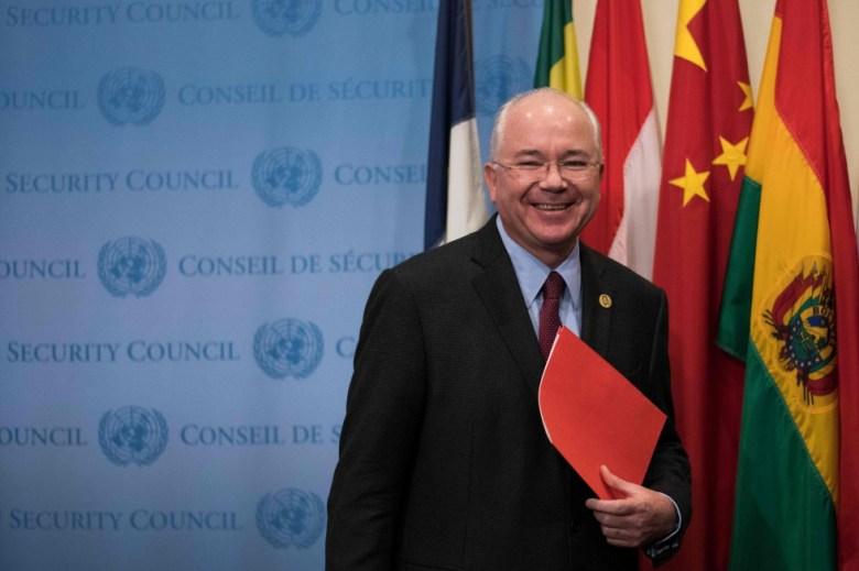 Rafael Ramírez Carreño, el pasado noviembre en la ONU en Nueva York.