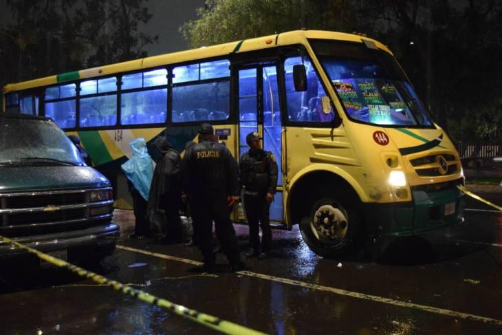 Un asaltante murió después de intentar robar un autobús, en agosto, en CDMX.