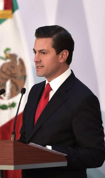 El presidente de México, Enrique Peña Nieto, el 21 de diciembre de 2017.