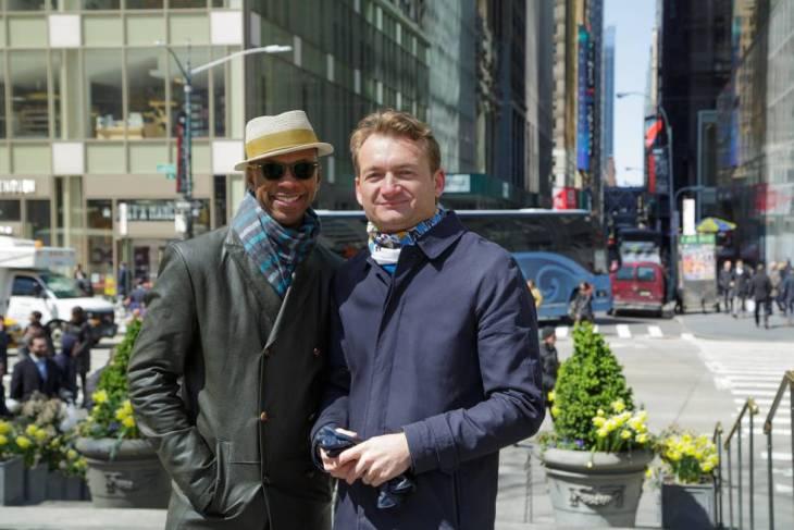 Claibourn Hamilton y Adrian Coman.