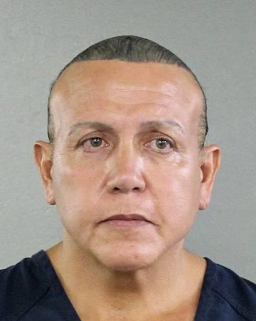 Cesar Sayoc, en una imagen distribuida por la policía.