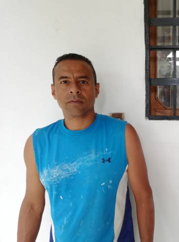 César Reina, na segunda-feira, em Caracas