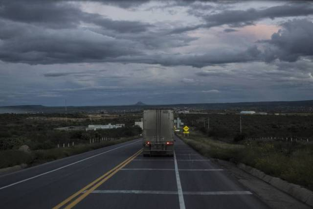 Carretera de Gómez Palacio, Durango.