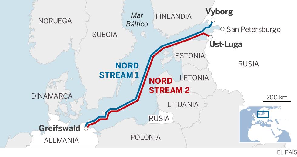 Alemania se asegura liderar la negociación con Moscú de un gasoducto por el mar Báltico