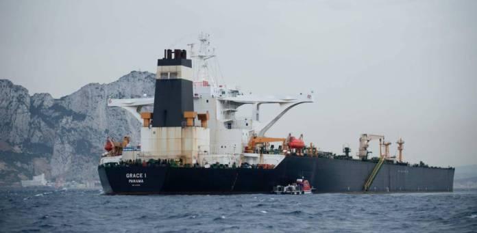 El petrolero iraní 'Grace 1', el pasado día 6 de julio.