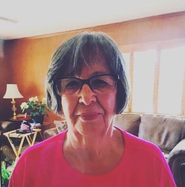 Angie Englesbee de 86 años