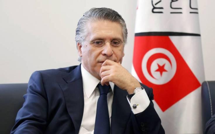 Nabil Karoui el día que oficializó su candidatura a la presidencia de Túnez