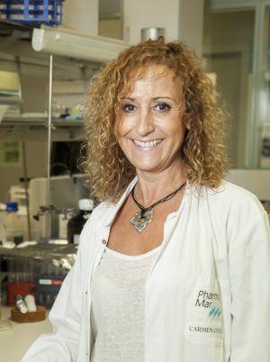 La directora de I+D de PharmaMar, Carmen Cuevas.