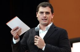 Albert Rivera, este domingo en Madrid