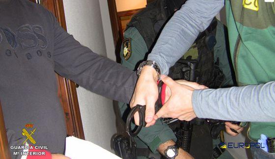 Detención del narcotraficante Robert Dawes en Benalmádena