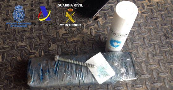 Paquetes de cocaína incautados en el Puerto de Valencia