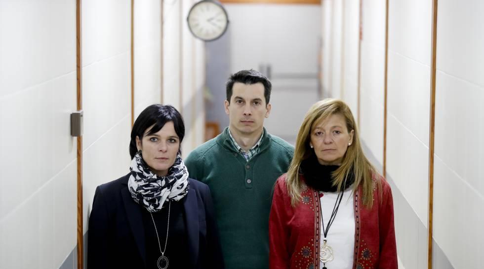 Azahara Peralta, Luis Gonzalo Segura y Ana Garrido.