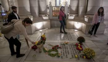 Cripta de la catedral de La Almudena donde está enterrada la hija de Franco.