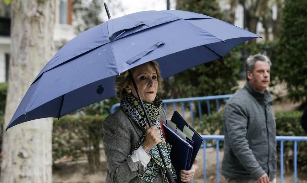 Rajoy, señalado por Aguirre en la Audiencia Nacional: consultaba con él los nombramientos de sus 'ranas'