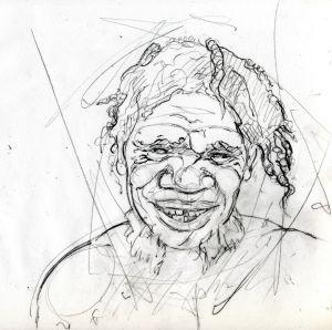Ilustración de un joven neandertal. / SONIA CABELLO / Diario El País