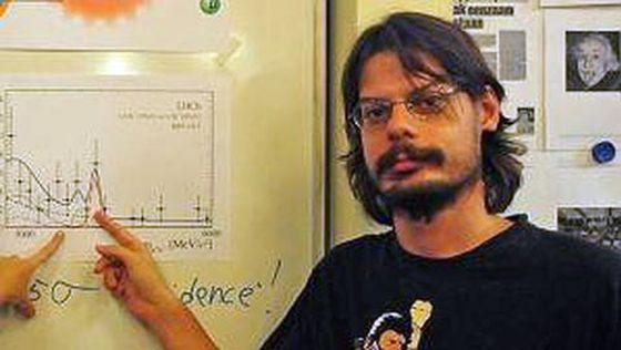 Le physicien Diego Martínez Santos