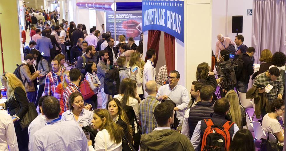 Asistentes al último eShow celebrado en Madrid.