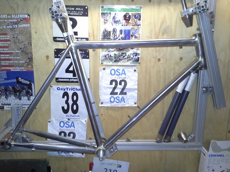 hand made steel frame