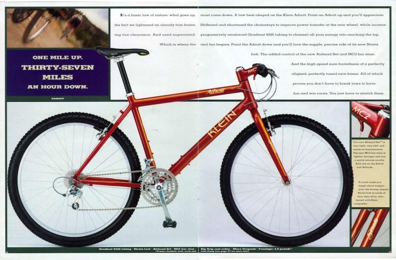 Klein Adroit Vintage Bike