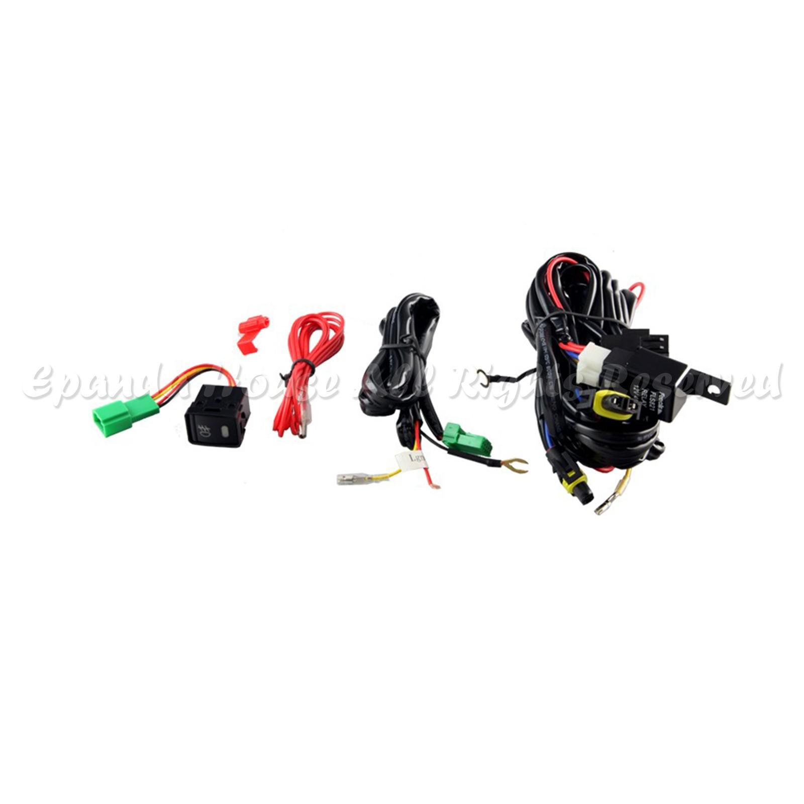 For 13 15 Nissan Sentra Clear Lens Fog Lights Assemblies K White Ac Hid Kit