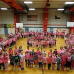 Pink Day at Chisum Elementary