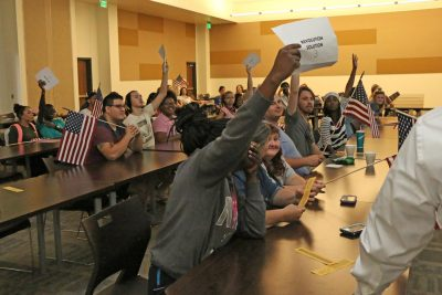 PJC students celebrate Constitution Day