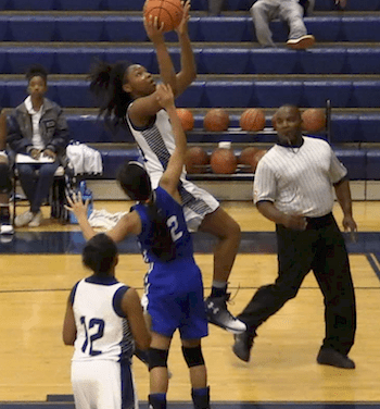 Rains Escapes with Win over Ladycats