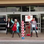 North Lamar students add a little step in their bell ringing